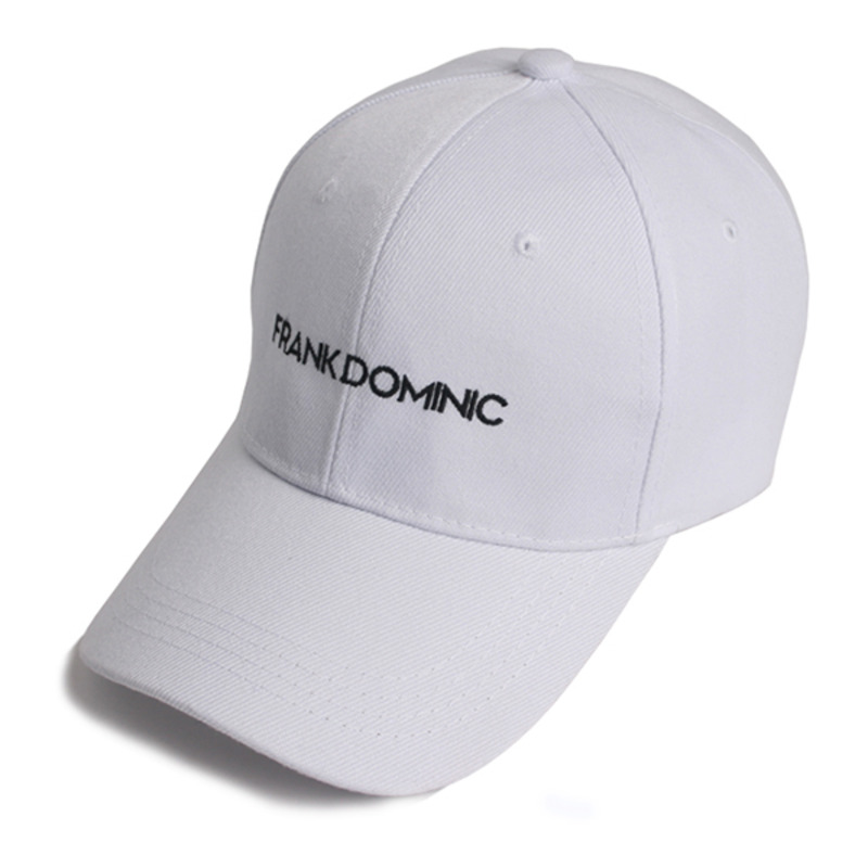 FRANK DOMINIC LOGO BALL CAP(WHITE)
