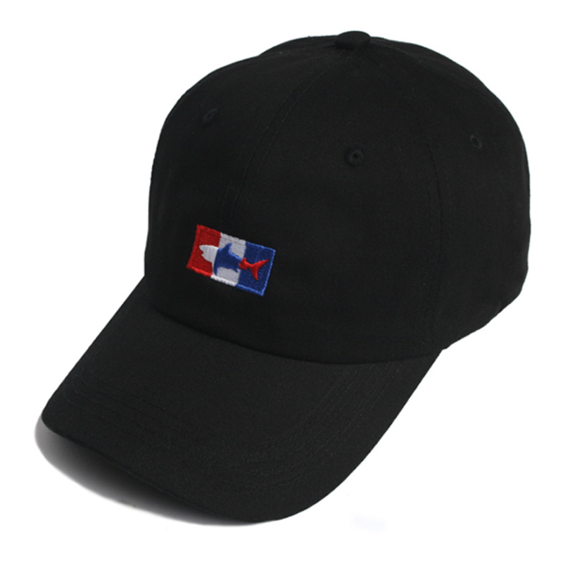 SHARK ICON BALL CAP(BLACK)