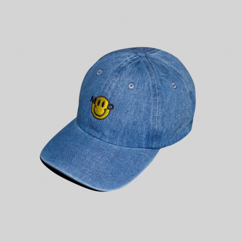 SMILE HAT - LIGHT DENIM