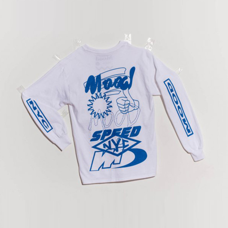 SPEED LONGSLEEVE - WHITE
