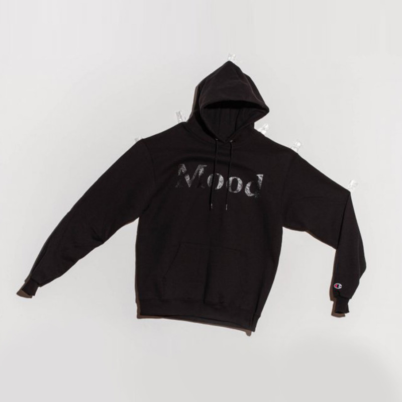 MOOD CIRCLE HOODY - BLACK