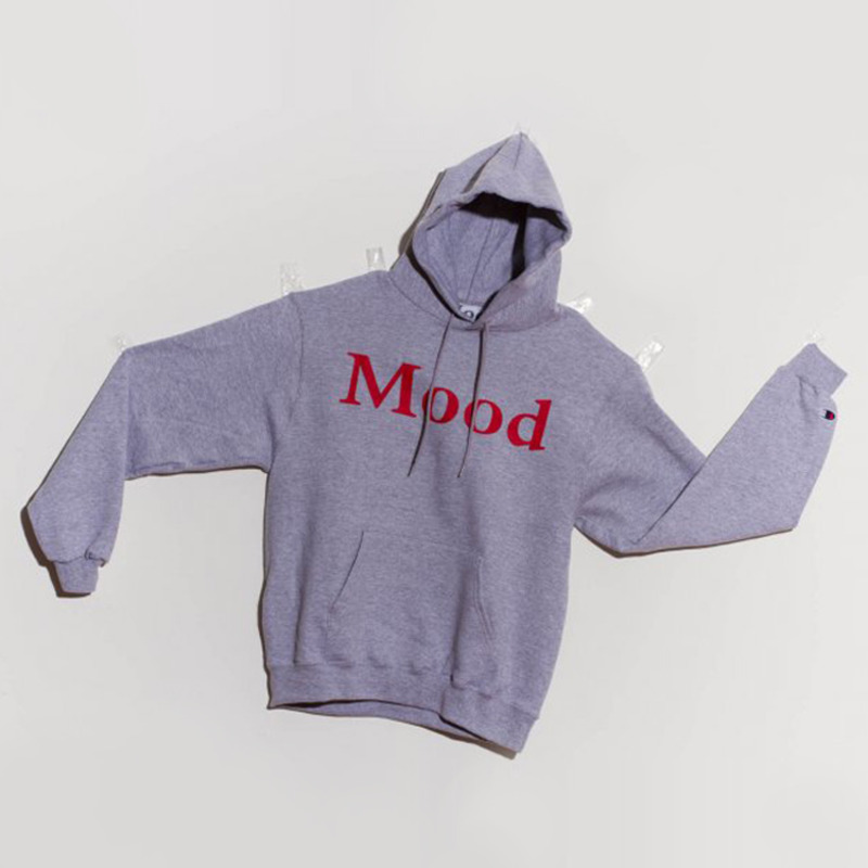 MOOD CIRCLE HOODY - GREY