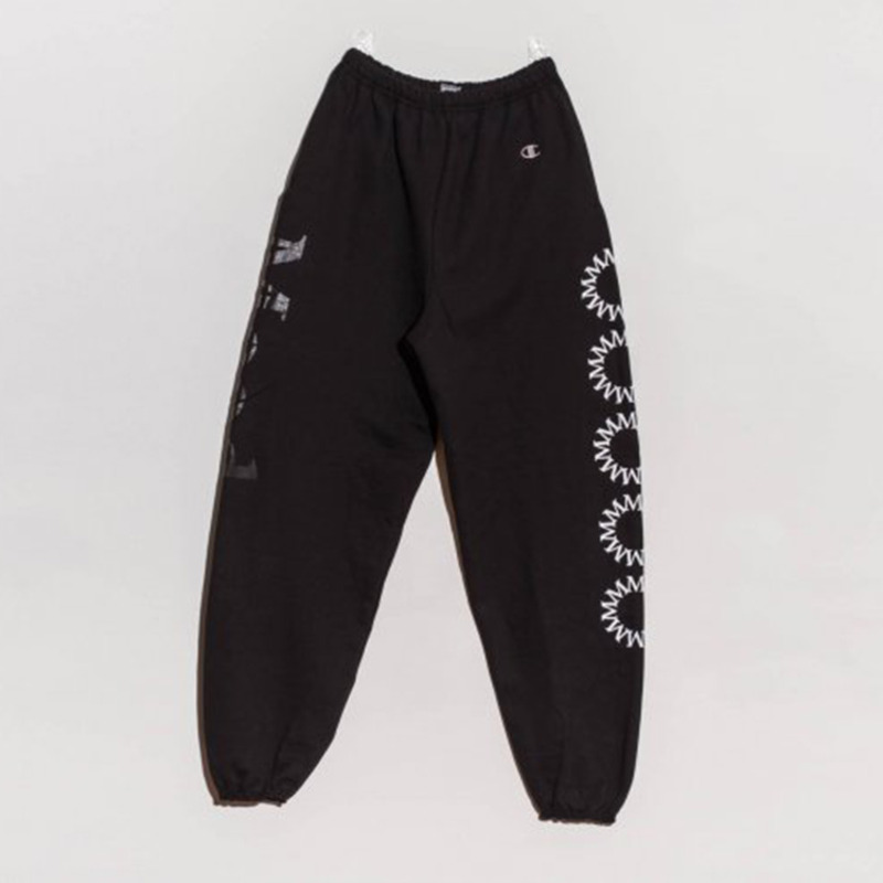 MOOD CIRCLE SWEATPANTS - BLACK