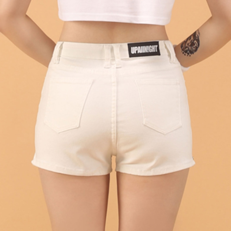 SHORT PANTS - CREAM WHITE