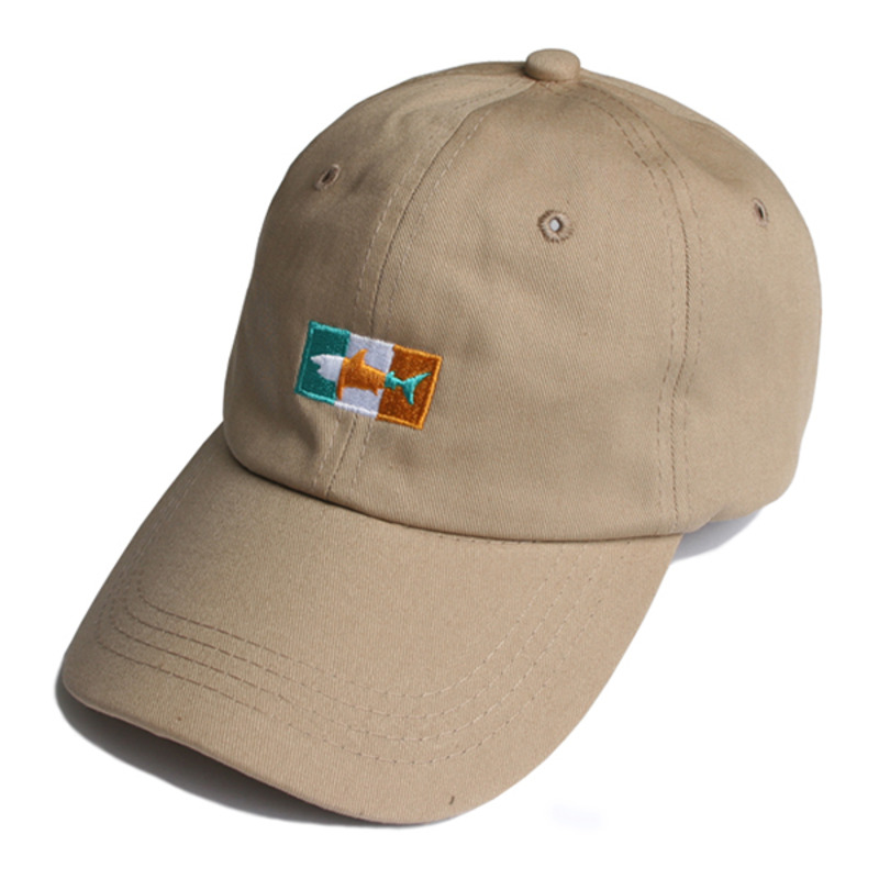 SHARK ICON BALL CAP(BEIGE)
