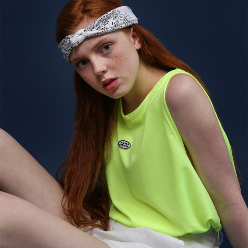 MOL LOGO SLEEVELESS - NEON