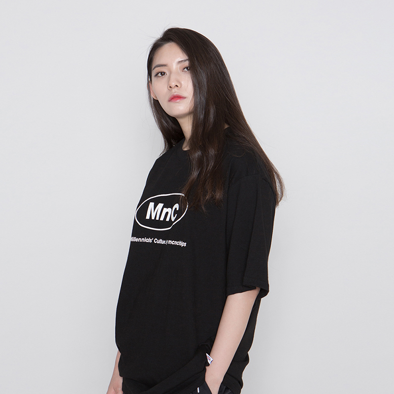 MNC MILK RUN TEE #5 [black]