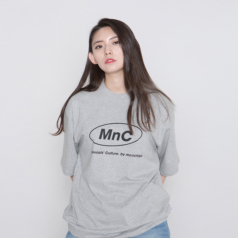 MNC MILK RUN TEE #5 [gray]