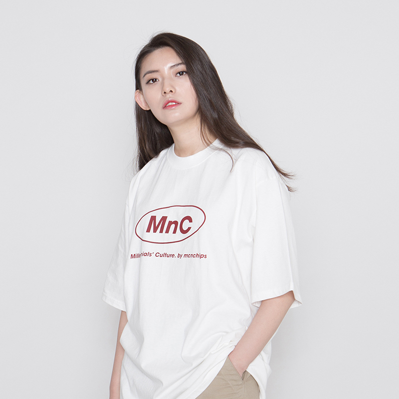 MNC MILK RUN TEE #5 [ivory]