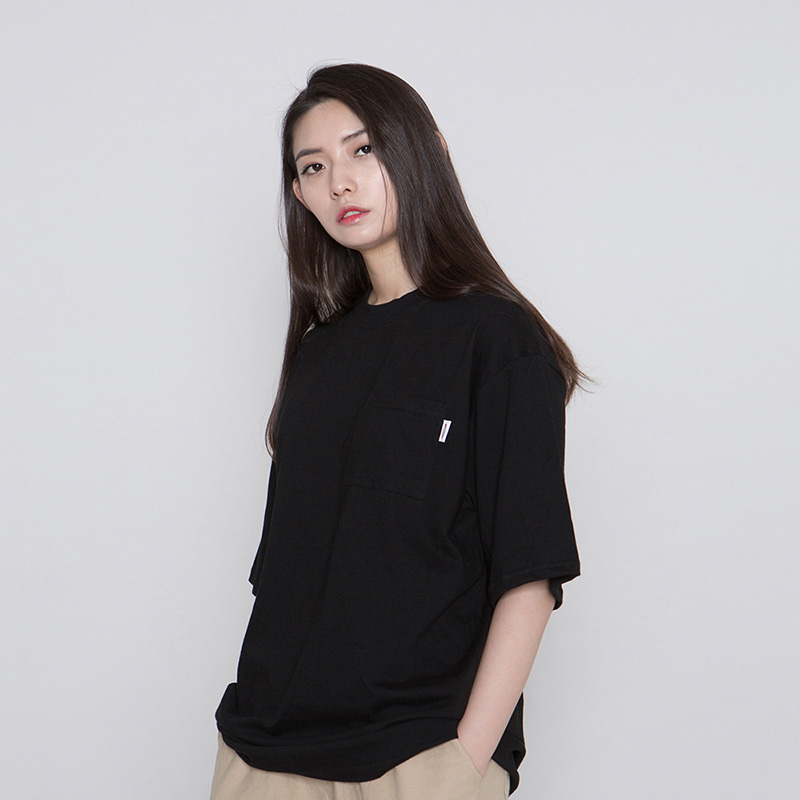 MNC MILK RUN POCKET TEE #3 [black]