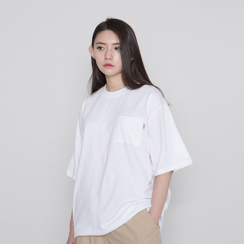 MNC MILK RUN POCKET TEE #3 [white]
