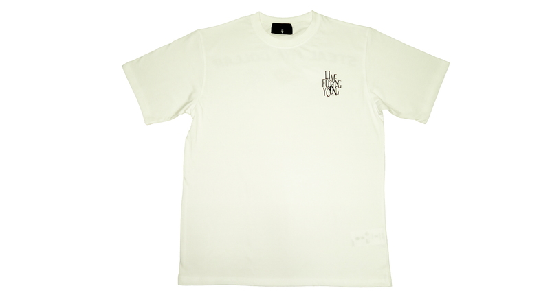 LIVE FUCKING YOUNG SUMMER T-SHIRTS (White)