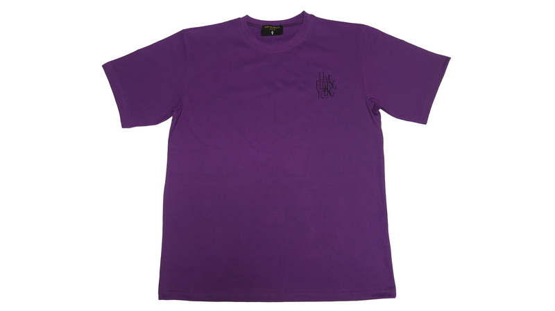 LIVE FUCKING YOUNG SUMMER T-SHIRTS (Purple)