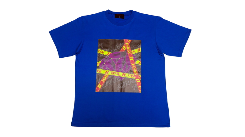 MONEY FLEX DIAMOND SUMMER T-SHIRTS (Blue)