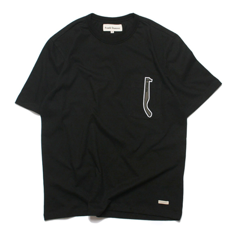 FD SUNGLASS POKET T-SHIRT(BLACK)