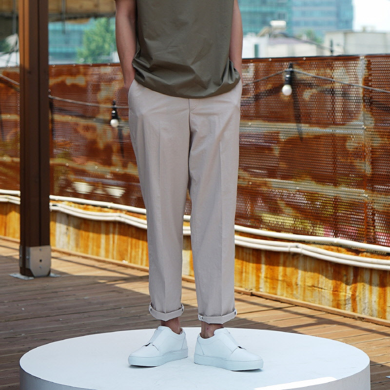 Neutral Trousers - BEIGE
