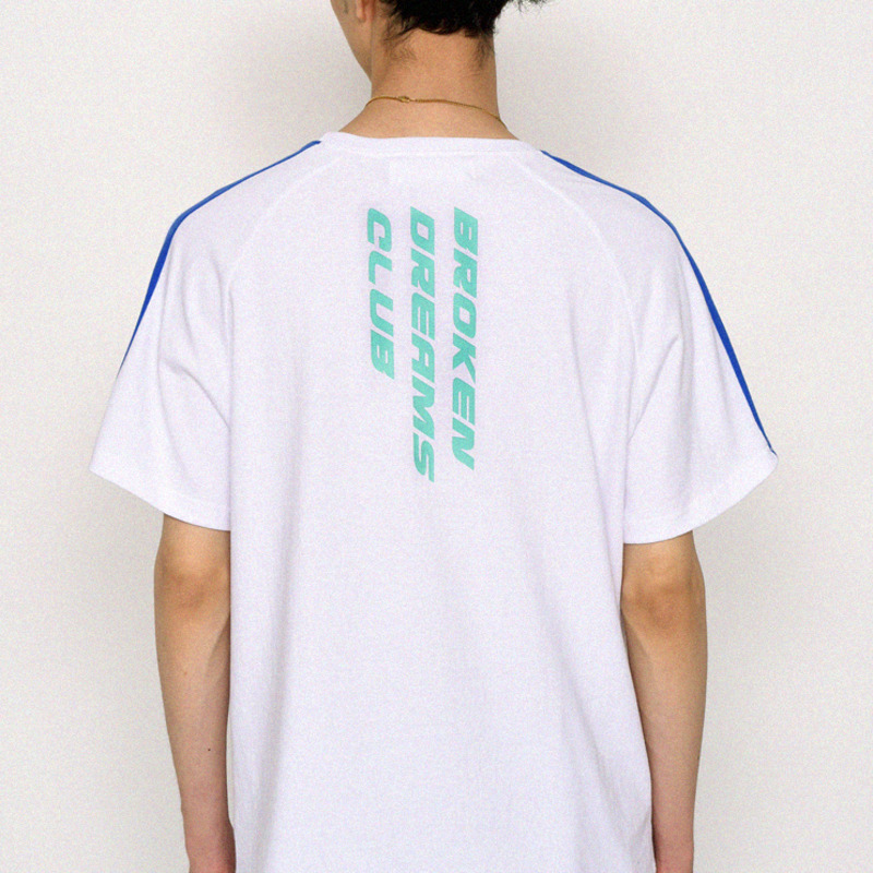 B.D.C SHORT SLEEVE T - WHITE