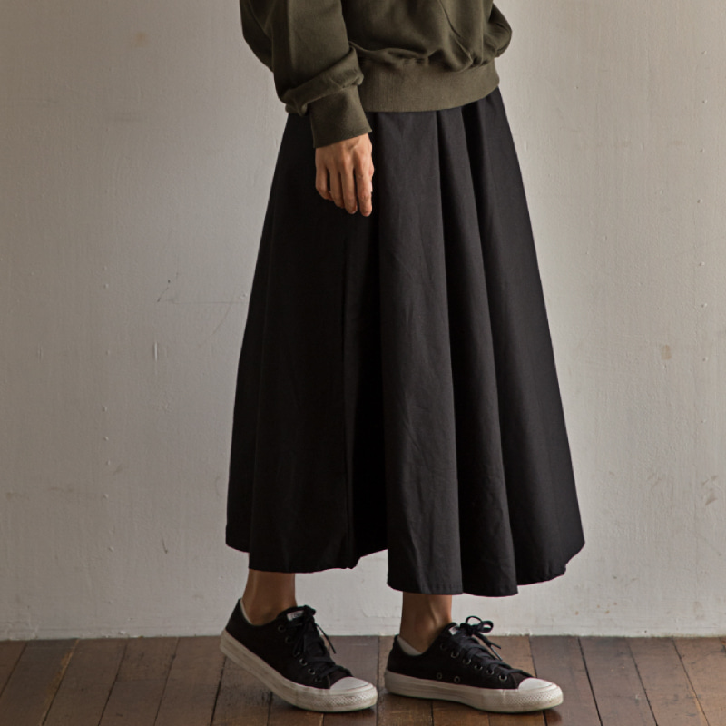 Long skirt(black)_Scene with you