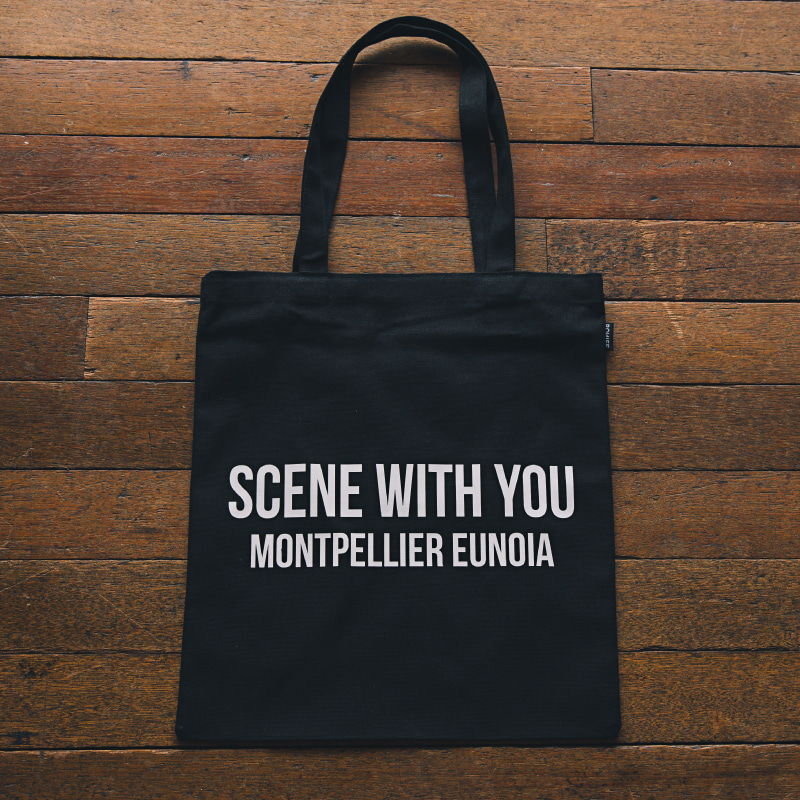Slogan black(bag)_Scene with you