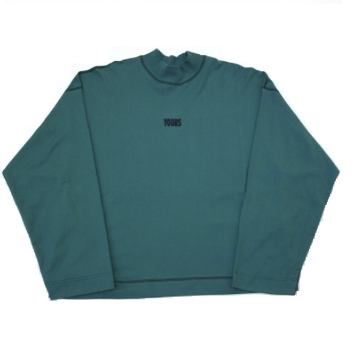 JieDa MOC NECK LONG SLEEVE T-SHIRT (GRN)