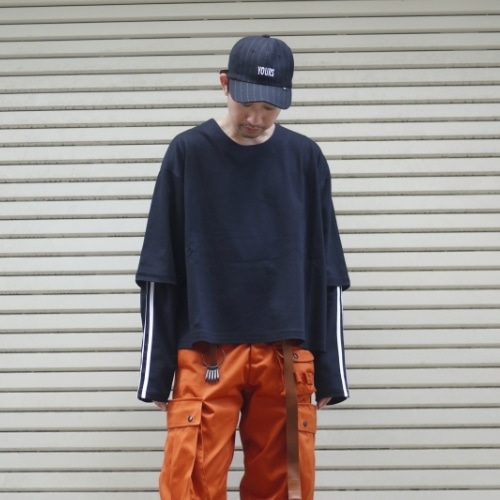 JieDa LAYERED T-SHIRT (BLK)