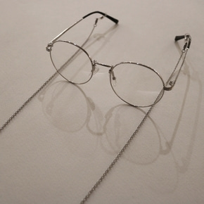 THINCKER STEEL CHAIN SILVER GLASSES - SILVER