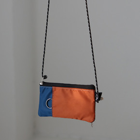 MULTI COLOR DAILY WALLET - ORANGE