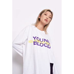 Young blood t-shirts-white