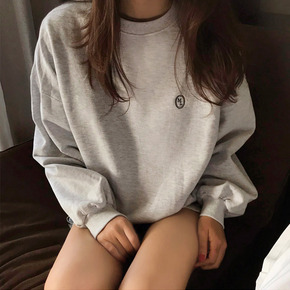 SIGNATURE LABEL SWEATSHIRTS - MELANGE