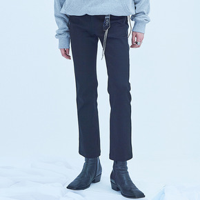 PIPING BOOT-CUT SKINNY