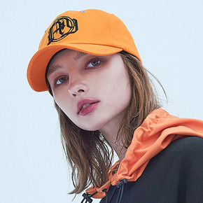 LOGO BALL CAP - ORANGE