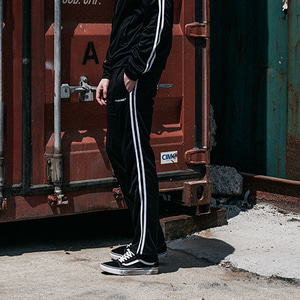A.S.A.P TRANING PANTS(BLACK/WHITE)