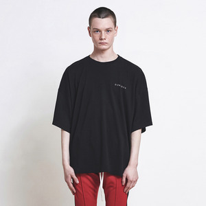Oversized Logo T-shirt Black