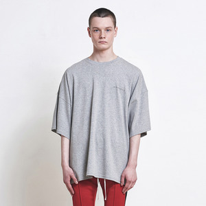 Oversized Logo T-shirt Grey