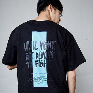 RECT POINT T- SHRITS_BLACK