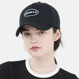 CIRCLE LOGO CAP (black)