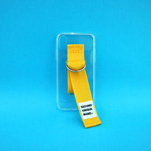 SUN CASE CLEAR YELLOW (JELLY CASE)
