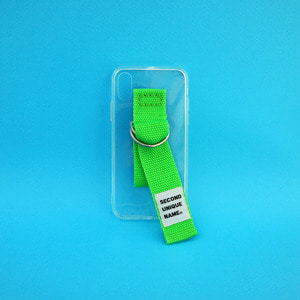 SUN CASE CLEAR YELLOW GREEN (JELLY CASE)