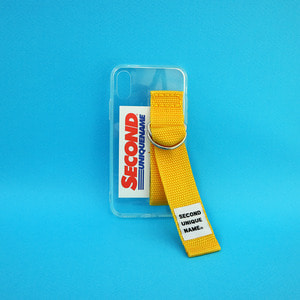 SUN CASE CLEAR YELLOW (CARD) (JELLY CASE)