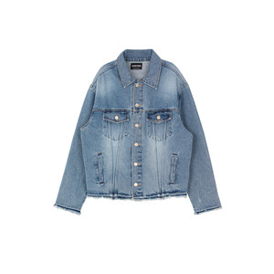 CUTTED LOOSE DENIM JACKET