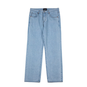 LIGHT WIDE DENIM PANTS