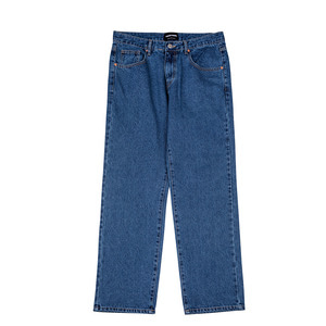BLUE WIDE DENIM PANTS
