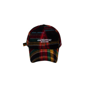 GAGNSWAT CHECK CAP(RED)