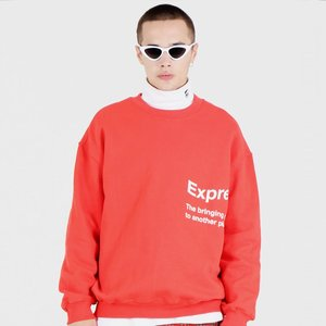 EXPRESS SYMBOL SWEAT SHIRTS (RED)