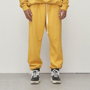 Logo Jogger Pants Yellow