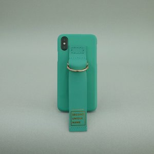 SUN CASE LEATHER SEA GREEN