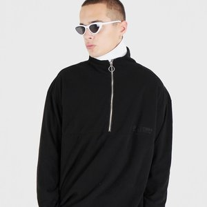 OG FLEECE HALF ZIP UP (BLACK)