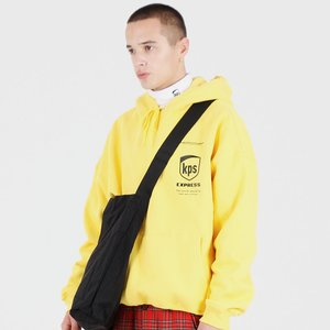 KPS HOODED SWEATSHIRTS (YELLOW)