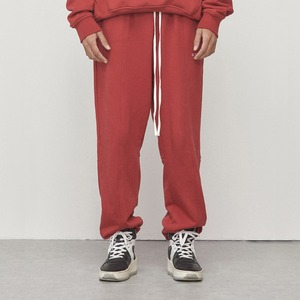 Logo Jogger Pants Red