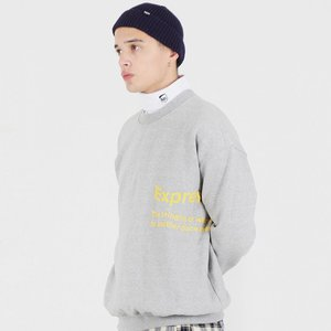 EXPRESS SYMBOL SWEAT SHIRTS (GREY)